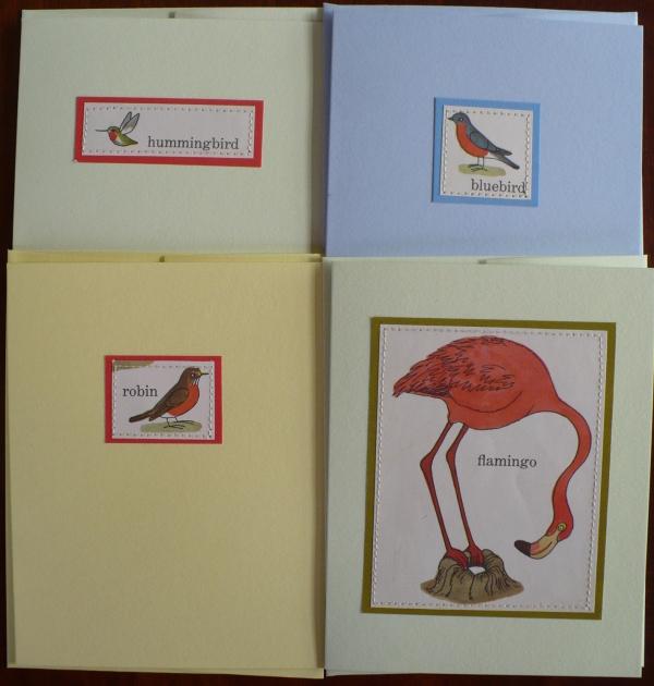 Bird cards 1
