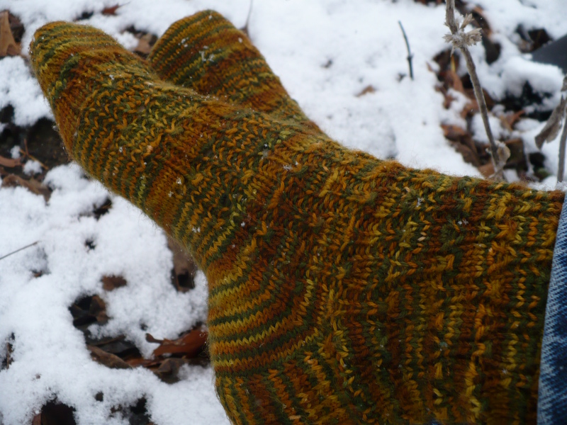 Just in Time for Snow socks 2