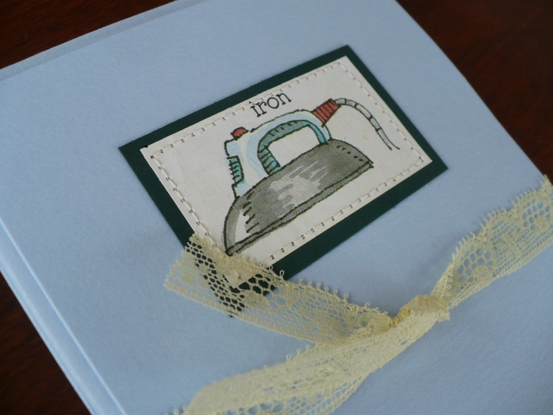 Sewing cards package
