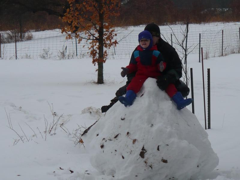 Snow play 2