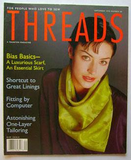 Bias scarf threads magazine