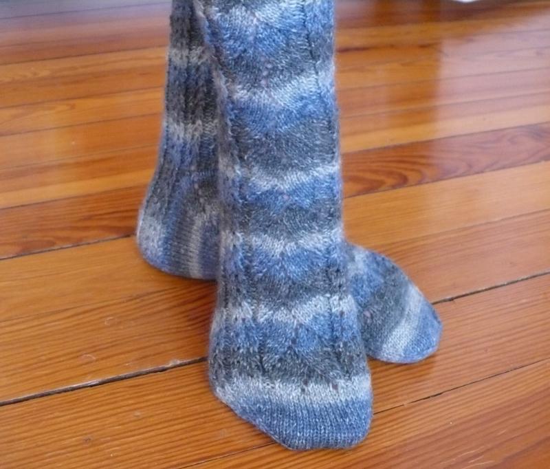 Merino Lace Socks 1