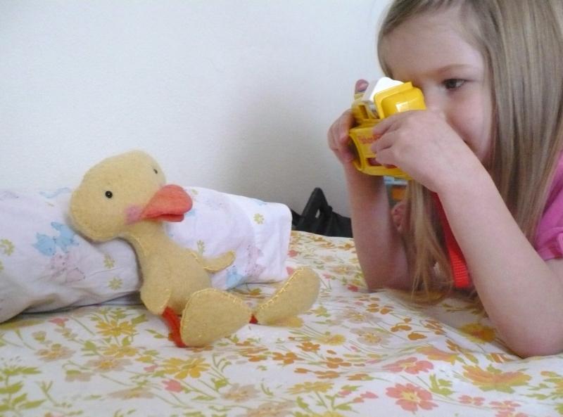 Ugly duckling photo op