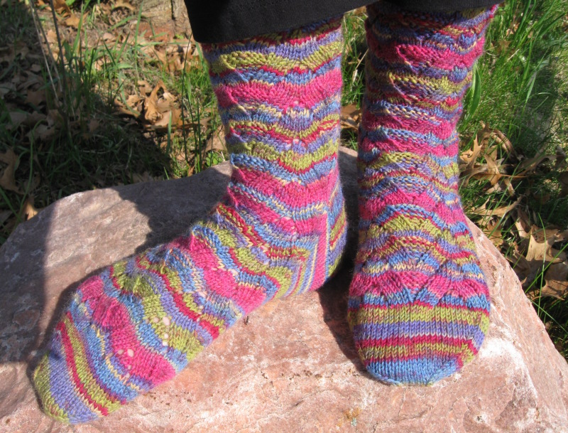 Monkey socks 3