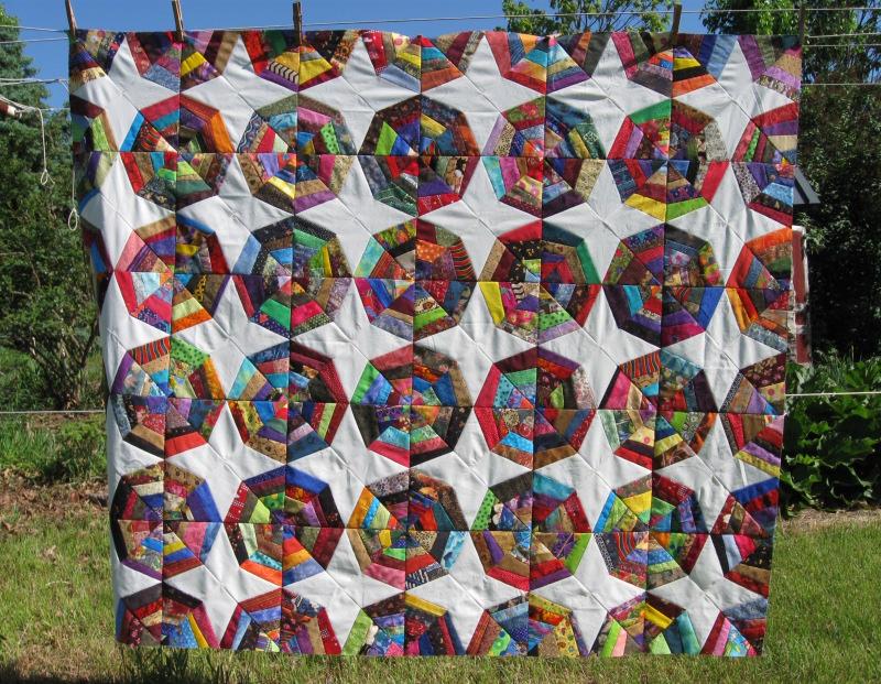 Spider quilt 4