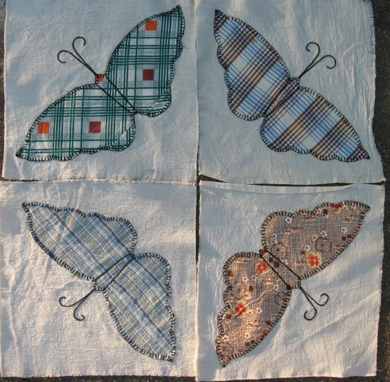 Thrift quilt blocks 1
