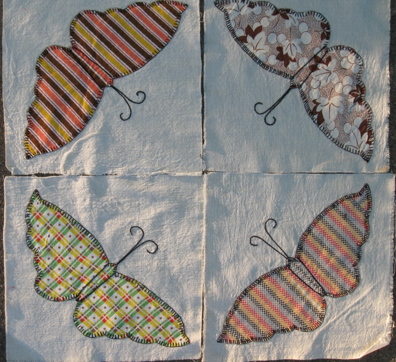 Thrift quilt blocks 2