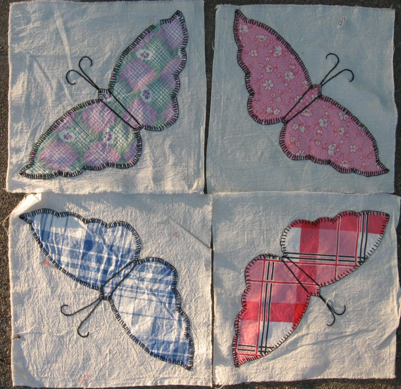 Thrift quilt blocks 3