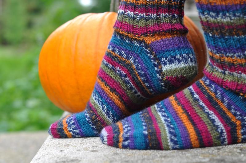 John Moore socks side