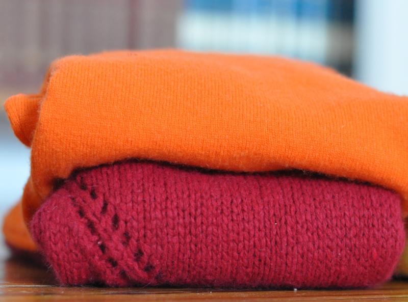 Winter thrift - the hokie sweaters