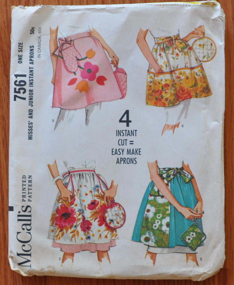 Thrift apron pattern