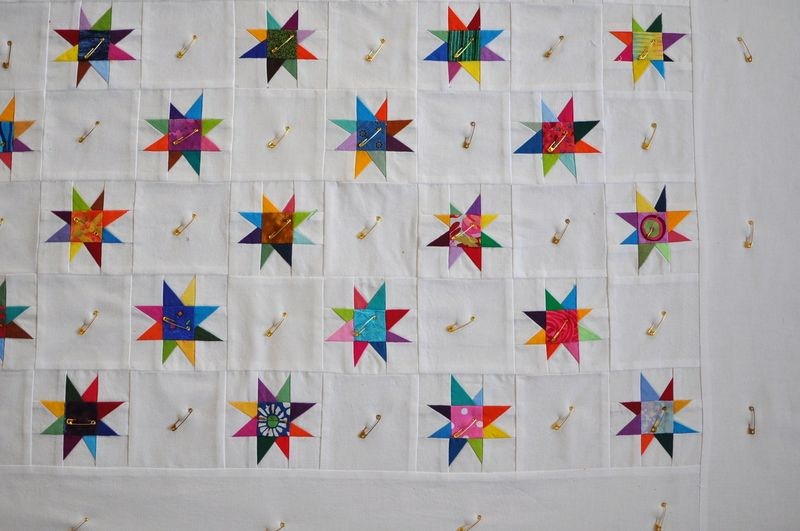 Little stars pinned