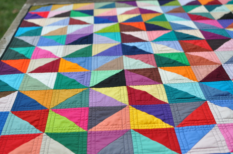 The Triangle Quilt - Lynn Carson Harris : how to quilt triangles - Adamdwight.com