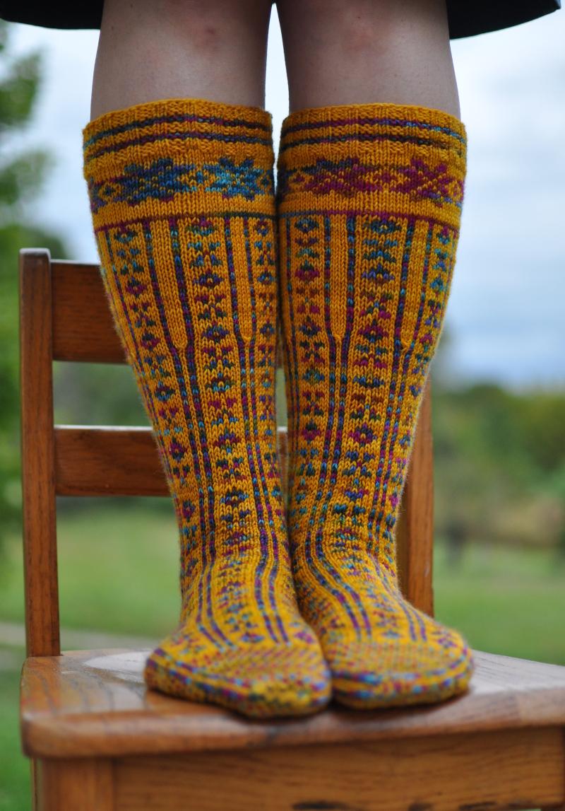 Norwegian stockings 1