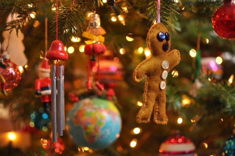 More tree ornaments