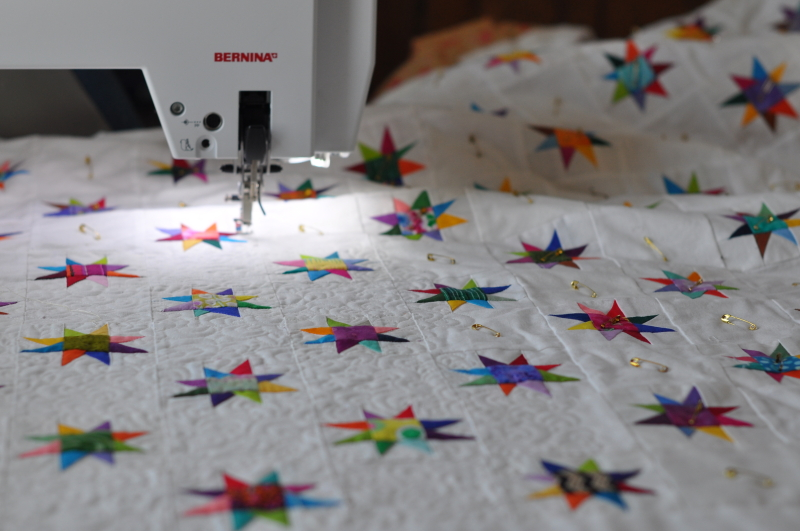 Quilting the stars 1