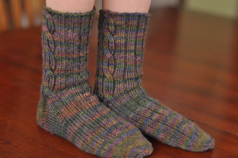 Quick knit boot socks 2