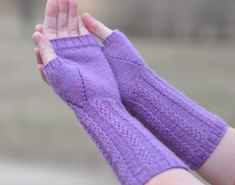 Lavender mitts palm