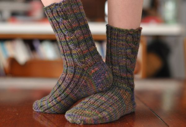 Patons Free Knitting Patterns For Babies : Quick Knit Boot Socks - Lynn Carson Harris