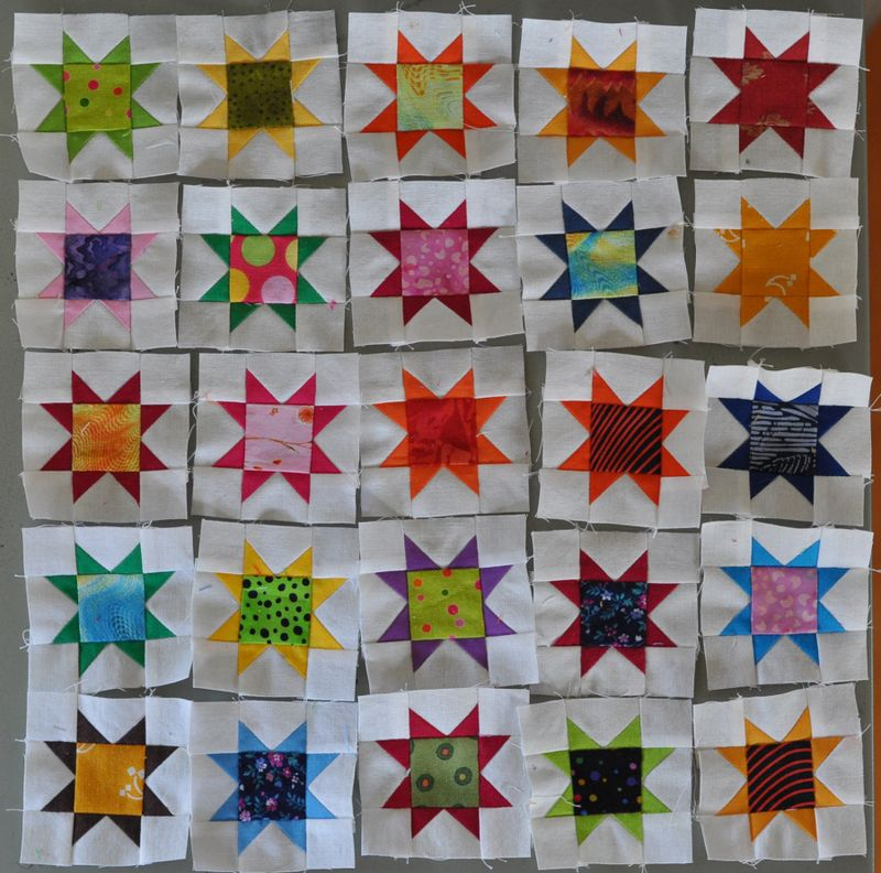 Two inch stars