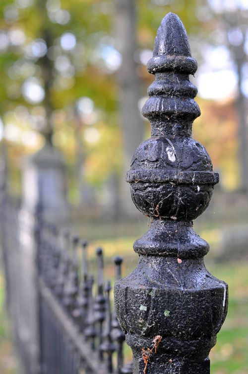 Cemetery finial