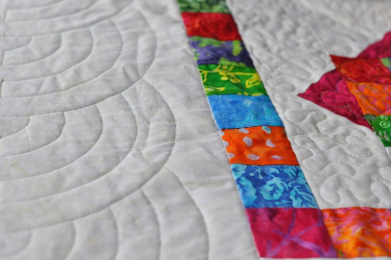 Quilted border