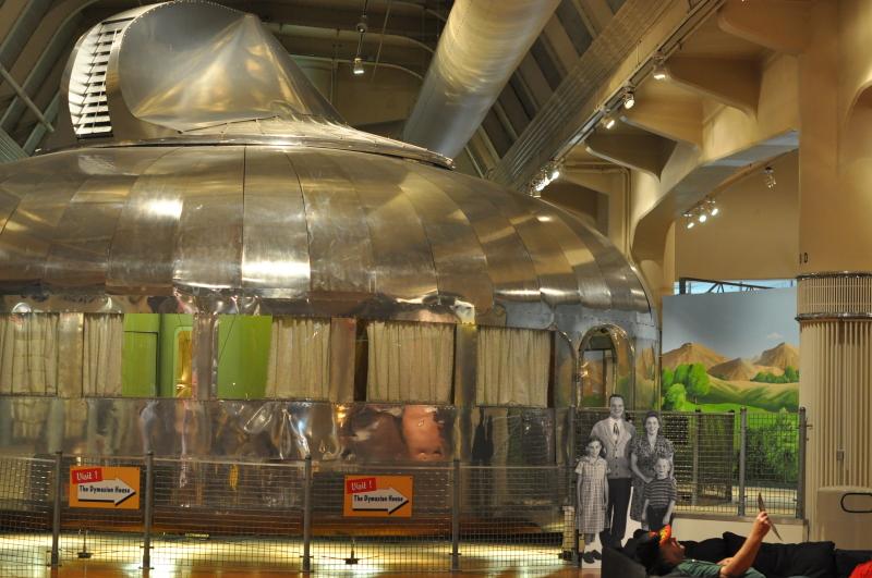 Dymaxion home