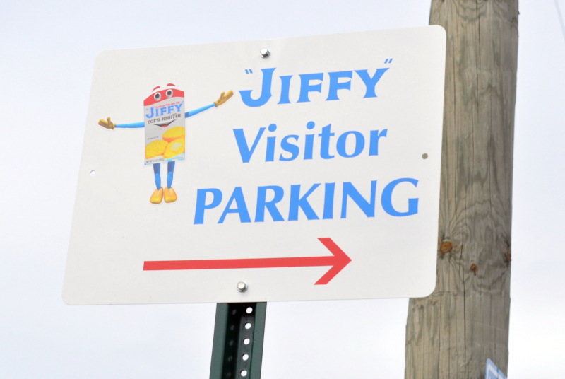 Jiffy sign