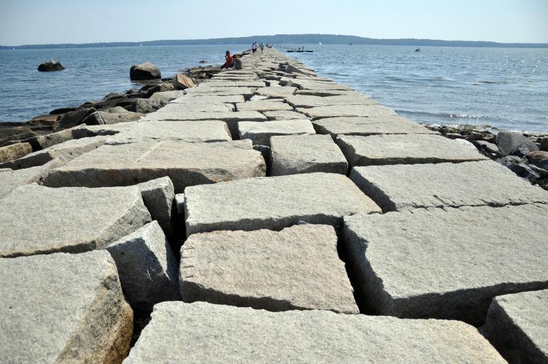 Maine breakwater