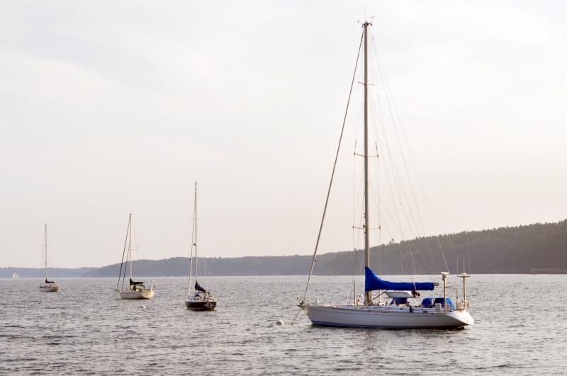 Boat blue