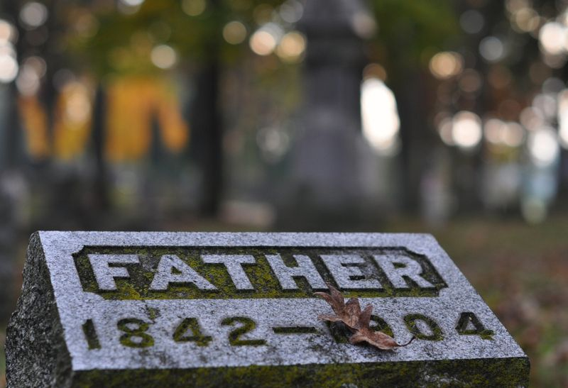 Cemetery father