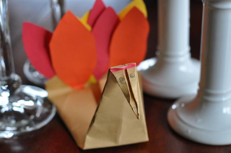Turkey centerpiece