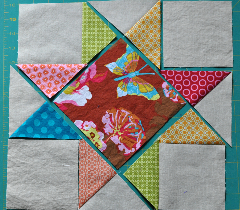 Brenda stars sew 1