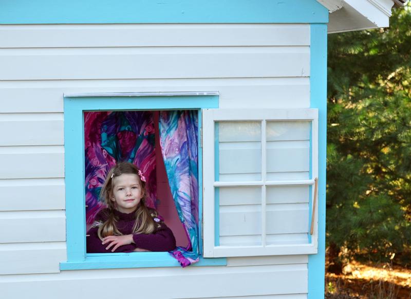 Playhouse window