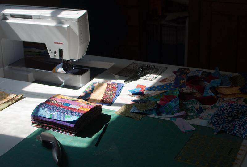 Scrap sewing