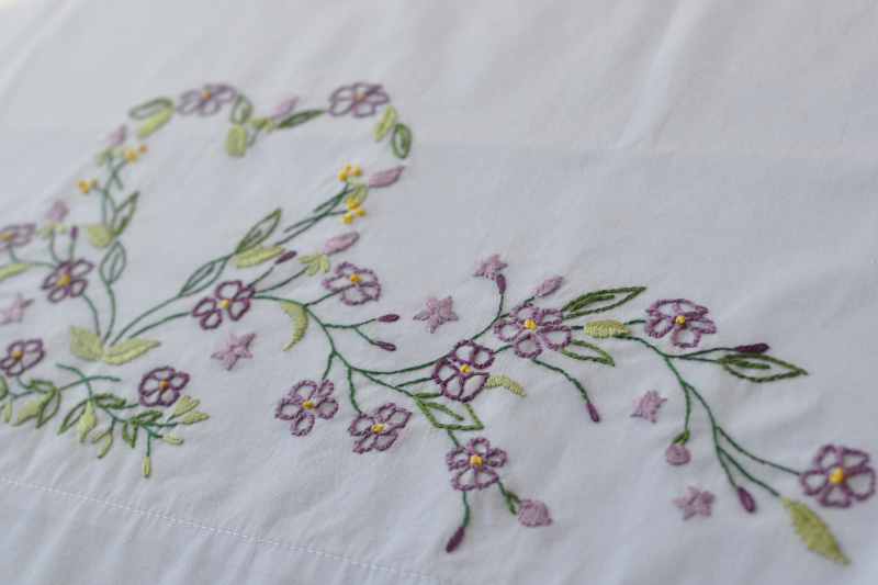 Pillowcase stitching
