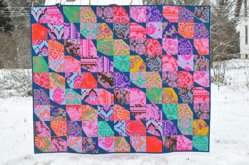 Crazy Love quilt