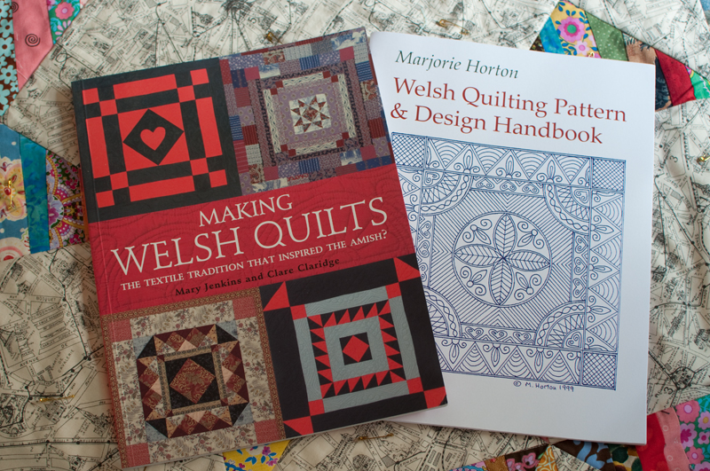 Welsh quilting books