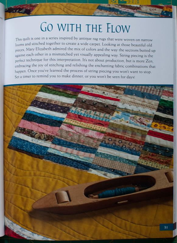 Rag rug quilt