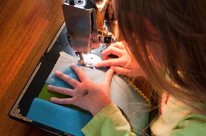 Kid-sewing