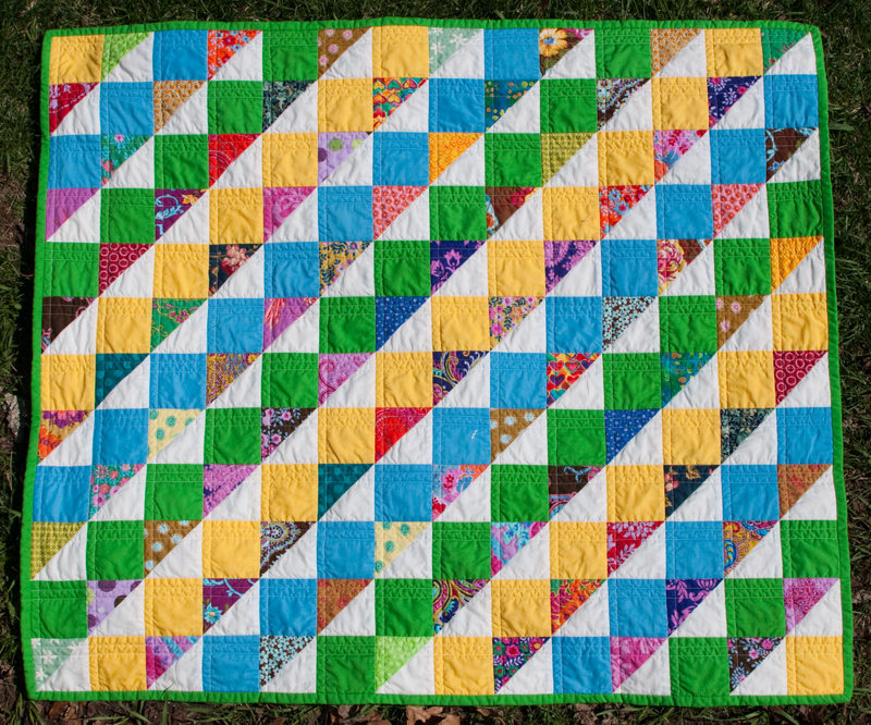 Baby quilt whole