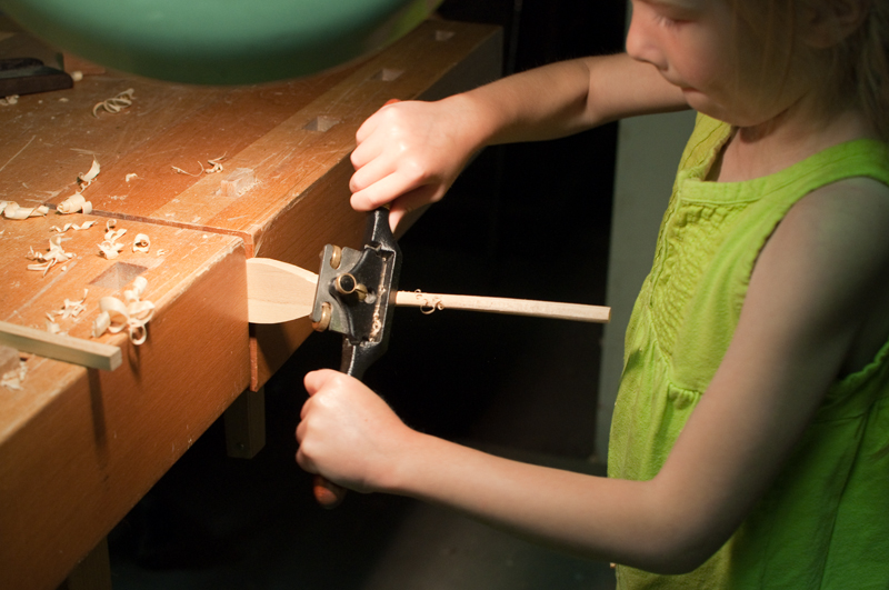 Making the handle round