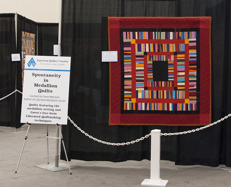 AQS Medallion quilts