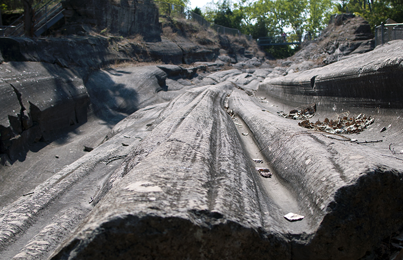 Anniversary trip - glacial grooves