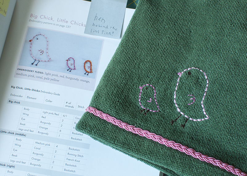 Little Stitches  embroidered