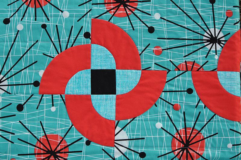 Atomic pinwheel detail
