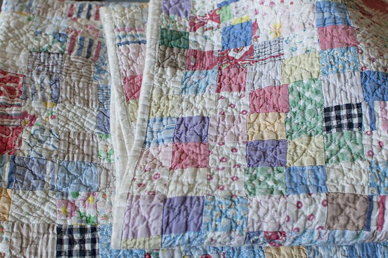 Well worn patchwork
