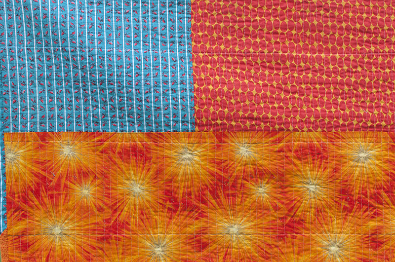 Tealorange - finished - back fabrics