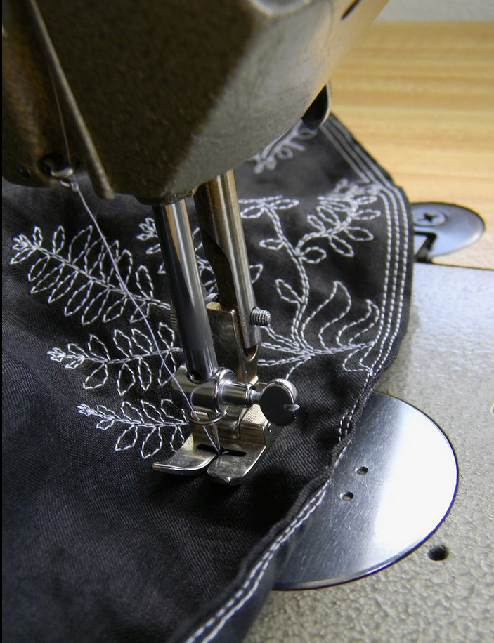 Stitched skirt