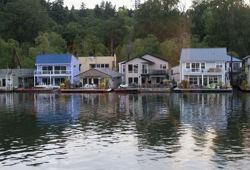 Portland houseboats